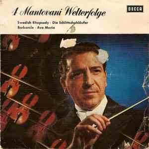 Mantovani und sein Orchester - 4 Mantovani Welterfolge download mp3 flac