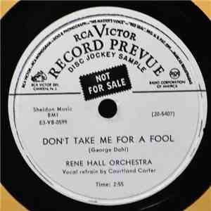 Rene Hall Orchestra - Don't Take Me For A Fool / Two Guitar Boogie download free